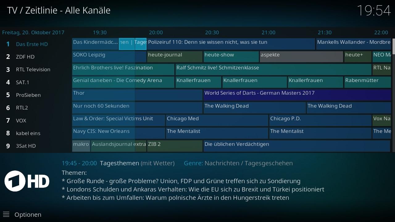 LibreELEC Live-TV mit TVHeadend | die25stestunde