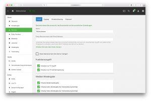 Emby – Benutzer Profil