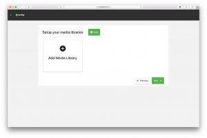 Emby Media Server – Wizard – Add Media Library