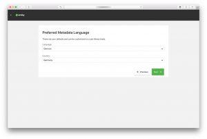 Emby Media Server – Wizard – Metadata Language