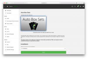 Emby Plugins – Auto Box Sets