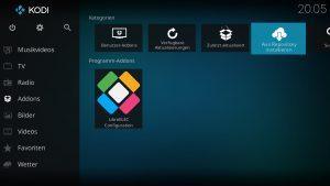 Kodi Addons installieren – Aus Repository installieren