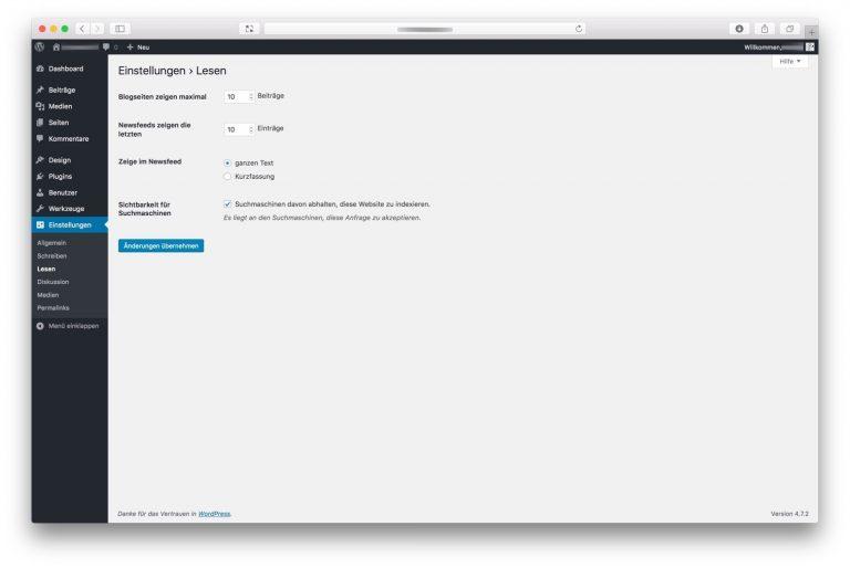 Website Indexierung durch Suchmaschinen (Google & Co.)