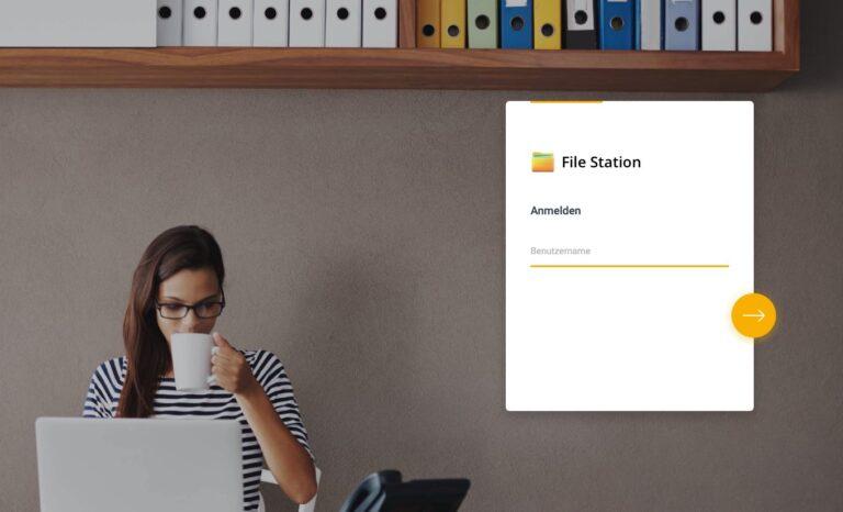 DSM 7.0 - File Station Web Login