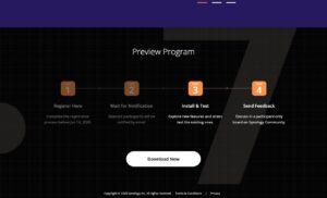 DSM 7 - Preview Program - Download
