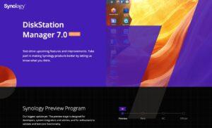 DSM 7 - Synology DiskStation Manager Preview