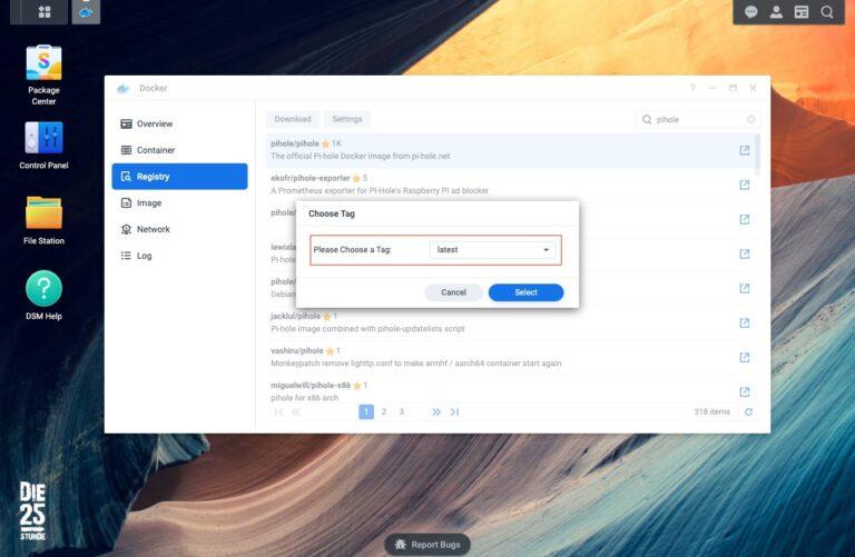 Docker - Registry - Pi-hole latest